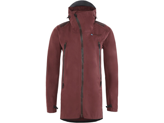 Klättermusen Midgard Shell Jacket Women burnt lava